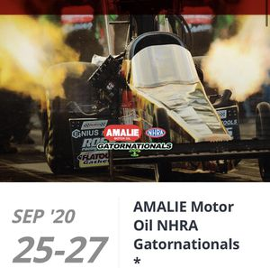 4 Tickets this weekend Saturday 9/26 AMALIE Motor Oil NHRA Gatornationals for Sale in Riverview, FL