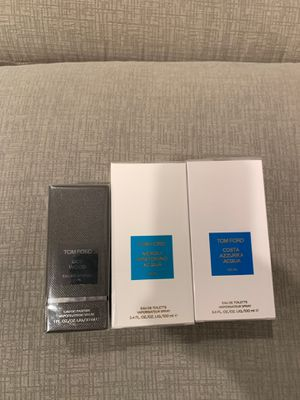 Tom Ford $70 each or $160 all for Sale in SeaTac, WA
