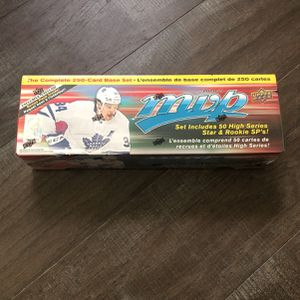 2020-21 Upper Deck MVP NHL 250 Card Complete Set Sealed for Sale in Irvine, CA