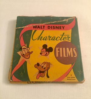 Old 8MM Disney Reel - note on box says part of the film is missing for Sale in Pittsburgh, PA