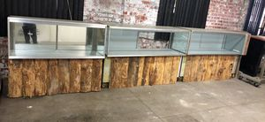 Glass showcases !!! for Sale in Buffalo, NY