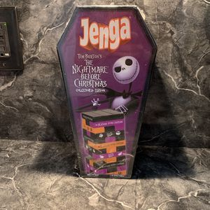 Disney - Nightmare Before Christmas Jenga NEW for Sale in Haines City, FL
