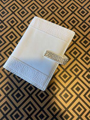 Swarovski crystal white wallet for Sale in North Providence, RI