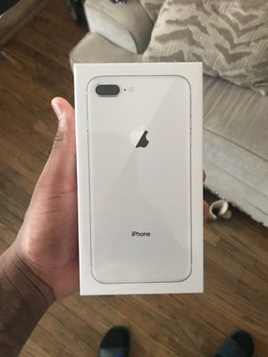 iPhone 8 plus silver 64gb. AT&T for Sale in Baltimore, MD