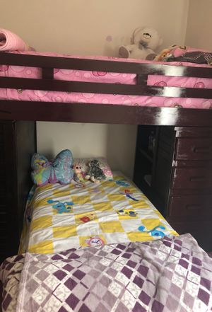 Bunk bed with study desk and drawers for Sale in Alexandria, VA