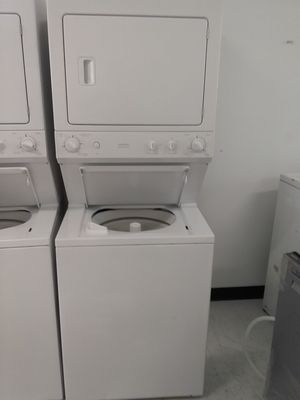 Ge stackable washer and dryer used good condition 90days warranty for Sale in Mount Rainier, MD