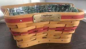 Longaberger Star Shaped Christmas Basket for Sale in Raleigh, NC