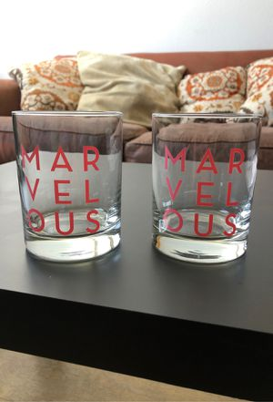 The Marvelous Ms. Maisel Wine Glasses (2) for Sale in Los Angeles, CA