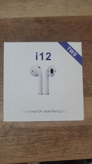 TWS i12 bluetooth wireless earbuds for Sale in Enterprise, NV