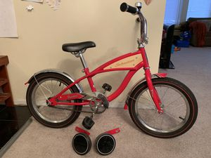 Schwinn Roadster 16 inch Bike with attachable training wheels for Sale in Chicago, IL
