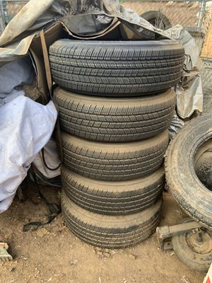 245/75R17 5 wheels and tires 5-127.00 for Sale in Sacramento, CA