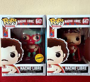 Funko POP Nacho Libre Chase and Common set for Sale in Pico Rivera, CA