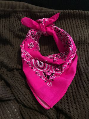 Hot pink bandanna for Sale in Zephyrhills, FL