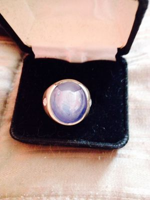 Gents Natural star sapphire & diamond ring for Sale in Rockville, MD
