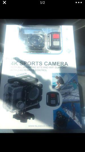 4k sports camera for Sale in Compton, CA