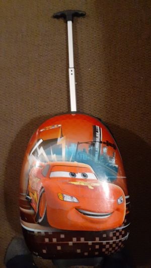 Disney cars luggage lunch pale headphones for Sale in Oregon City, OR
