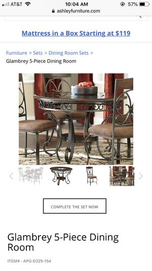 Glambery table (Ashley brand ) for Sale in Denver, CO