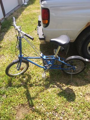 "Daton fold up bike ""old"" for Sale in Clinton, IA"