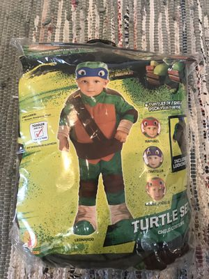 2-3T Teenage Mutant Ninja Turtle costume (includes all 4!!) - $10!! for Sale in Long Beach, CA