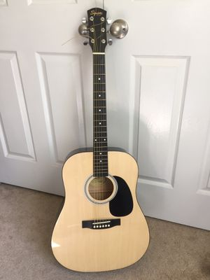 Squire acoustic guitar w/gig bag for Sale in Worcester, MA