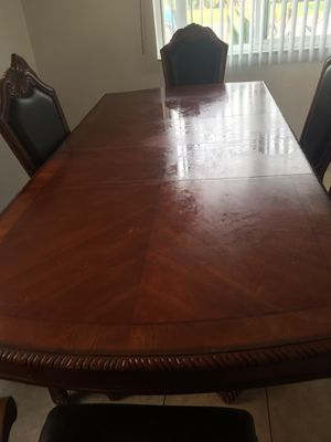 Dining table with two extension for Sale in Costa Mesa, CA