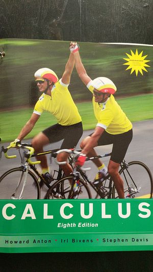 Calculus - eighth edition - Anton, Bivens, Davis for Sale in Chicago, IL