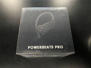 Brand New Powerbeats Pro (Black) Wireless Earbuds for Sale in Seattle, WA