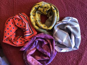 4 classy scarves for Sale in Round Lake, IL