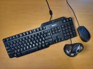 88% off Logitech Wireless Laser Mouse, Dell Keyboard, Mouse for Sale in San Jose, CA
