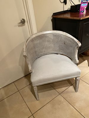 Antique Soft Blue Chair for Sale in Houston, TX