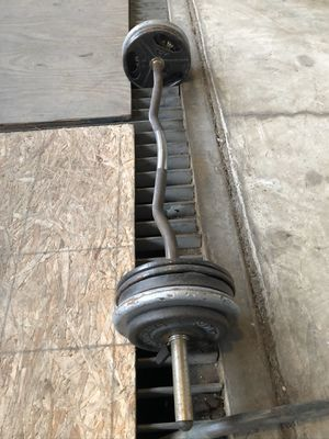 Curl bar for Sale in Inglewood, CA