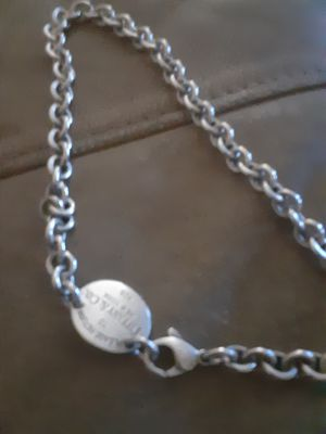 Tiffanys necklace platinum 200 for Sale in Carson City, NV