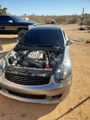 Infiniti g35 coupe 06 6 speed for Sale in Yucca Valley, CA