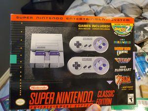 Classic Super Nintendo for Sale in Bakersfield, CA