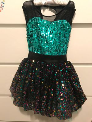 Beautiful Sequin Dance Dress size 5T for Sale in Miami, FL
