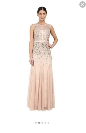 Adrianna Papell Blush Dress for Sale in Chicago, IL
