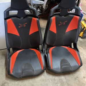 Can Am X3 Red Can Am Seats for Sale in Phoenix, AZ