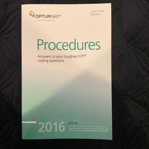CPT Procedures By Optum 360 for Sale in Hacienda Heights, CA