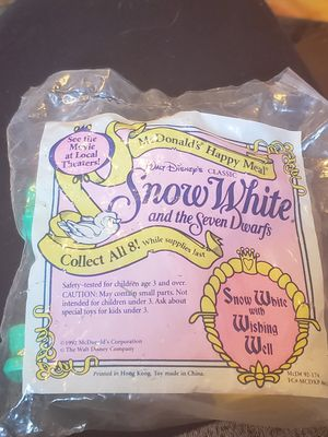 McDonald's Happy Meal Snow white for Sale in Orting, WA