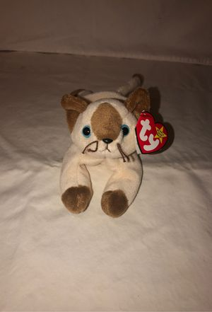 Sinp the cat , beanie baby from 1996 for Sale in Renton, WA