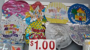 Mylar balloons .35 each buy $70 for Sale in Saint Charles, MO