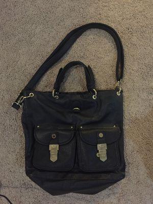 Black Steve Madden Faux Leather Purse Shoulder Bag with Gold Hardware for Sale in La Habra, CA
