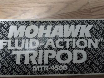 MoHawk Fluid-Action Tripod for Sale in North Richland Hills,  TX