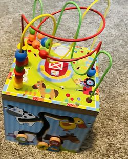 Wooden Activity Cube for Sale in Colorado Springs,  CO
