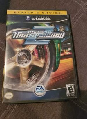 Nfs underground 2 for gamecube for Sale in Las Vegas, NV