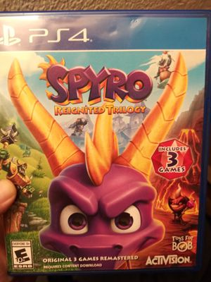 Spyro PS4 trilogy. for Sale in Mukilteo, WA