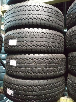 LT285/70R17 FIRESTONE DESTINATION LE ALL TERRAIN 285/70R17 USED MATCHING TIRES MOUNTED AND BALANCED 285 70 17 for Sale in Fort Lauderdale, FL