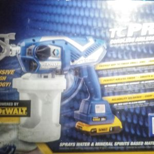 Dewalt Battery Powered Graco TC PRO Cordless Airless Handheld Paint Sprayer 17N166 for Sale in Henderson, NV