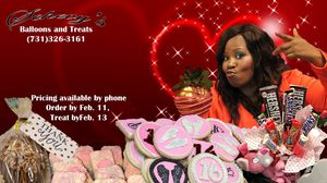 Schevy's Balloons and Treats Valentines Sale for Sale in Memphis, TN