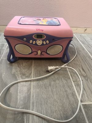 Disney CD player and jewelry box for Sale in FL, US